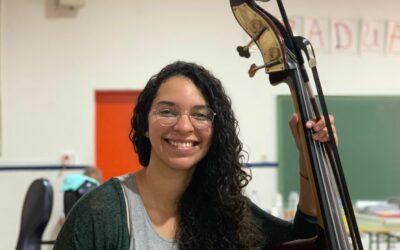 Edilyn, ganadora de una beca de estudios en el Real Conservatorio Superior de Música de Madrid
