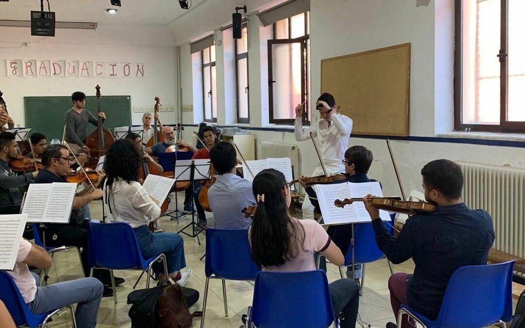 ¡La Orquesta de los inmigrantes venezolanos comenzó a ensayar!