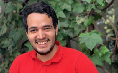 Daniel, ganador de una beca de Grado de Administración y Dirección de Empresas