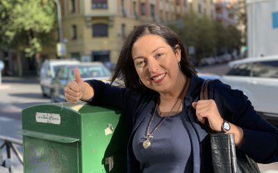 Teresa, ganadora de la beca de Máster Universitario en Formación del Profesorado