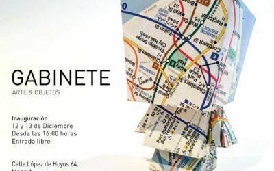 «Gabinete», un evento artistico solidario en Madrid