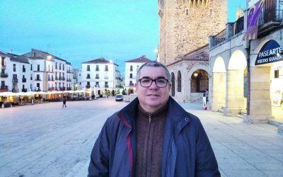 Juan Carlos, ganador de una beca de Máster en Nuevas Tecnologías Educativas y Competencias Digitales