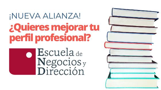 ¡Nueva alianza! : ENYD, Escuela de Negocios y Dirección