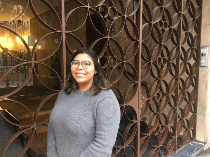 Laura, ganadora de una beca de Grado en Ingeniería Informática
