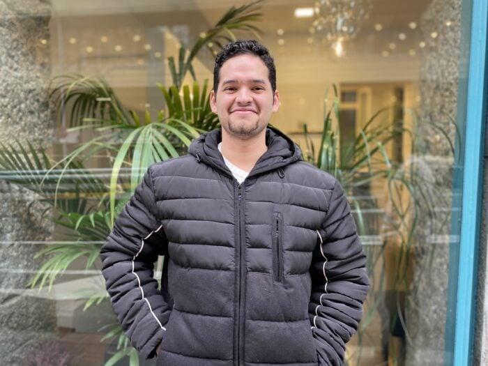 Giancarlos, ganador de una beca de Grado en Marketing y Com. Internacional