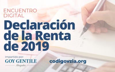 [Encuentro Digital] Declaración de la Renta de 2019