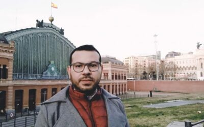 Luis, seleccionado para el curso de Marketing Digital del proyecto Conecta_Educación