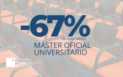 |-67% de descuento | Máster oficial en imagen pública, dirección de eventos y protocolo