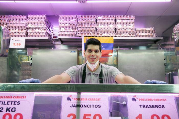 Andrés, un emprendedor cargado de optimismo