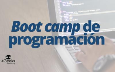 Dos becas para cursar un boot camp de programación