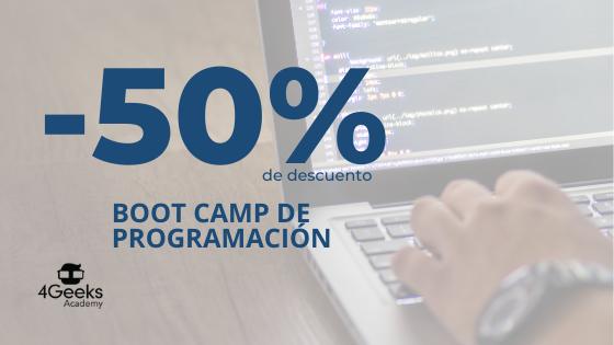 Fundación Código Venezuela Descuento boot camp programación