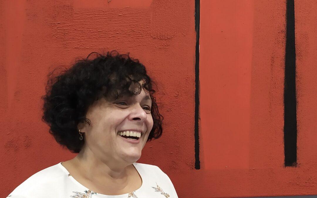 Mary Carmen, ganadora de una mentoría en emprendimiento
