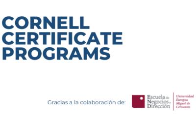 Cornell Certificate Programs de la mano de ENYD, Escuela de Negocios y Dirección
