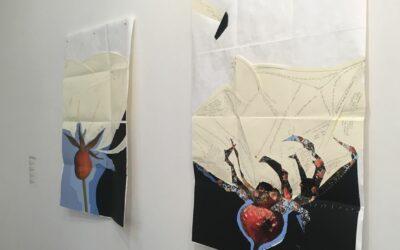 «Rosa en tiempos de Invierno», un trabajo de la artista Alexandra Kuhn